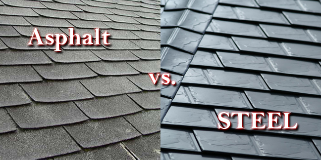 Asphalt-steel-shingles